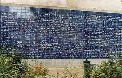 Mur des je t'aime - photo Claire Kito