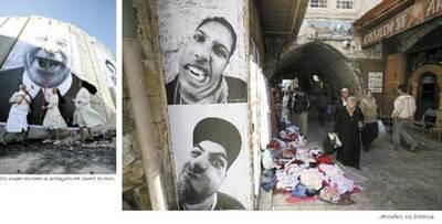 Photos extraites du livre Face 2 Face de JR & Marco. éd. Alternatives